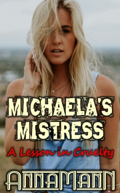 cover design for the book entitled Michaela