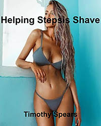 cover design for the book entitled Helping Stepsis Shave