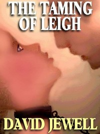 cover design for the book entitled THE TAMING OF LEIGH