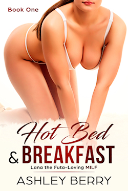 cover design for the book entitled Hot Bed & Breakfast