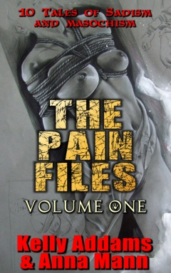 cover design for the book entitled The Pain Files