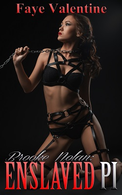cover design for the book entitled Brooke Nolan: Enslaved PI