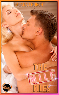 cover design for the book entitled The MILF Files: A MILF Anthology