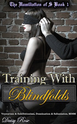 cover design for the book entitled Training With Blindfolds