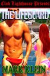 cover design for the book entitled The Lifeguard