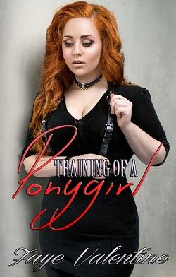cover design for the book entitled Training of a Ponygirl