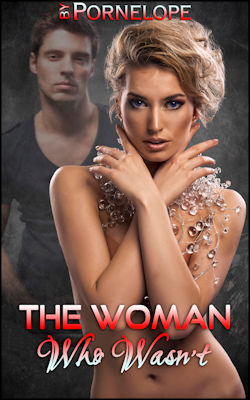 cover design for the book entitled The Woman Who Wasn