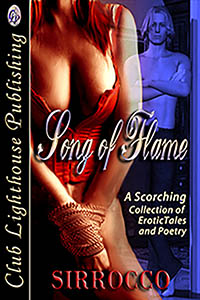 cover design for the book entitled Song Of Flame