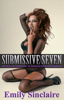 cover design for the book entitled Submissive Seven