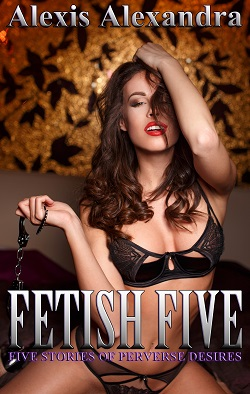 cover design for the book entitled Fetish Five