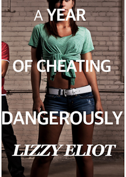 cover design for the book entitled A Year of Cheating Dangerously