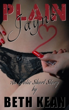 cover design for the book entitled Plain Jayne