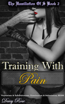 cover design for the book entitled Training With Pain