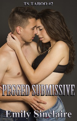 cover design for the book entitled Pegged Submissive