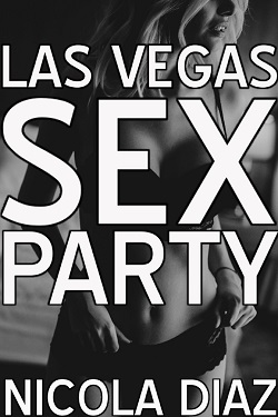 cover design for the book entitled Las Vegas Sex Party