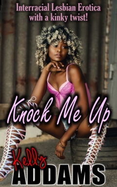 cover design for the book entitled Knock Me Up