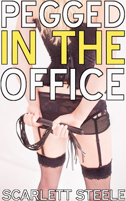 cover design for the book entitled Pegged In The Office!