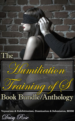 cover design for the book entitled The Humiliation Training of S