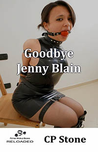 cover design for the book entitled Goodbye Jenny Blain