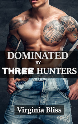 cover design for the book entitled Dominated By Three Hunters