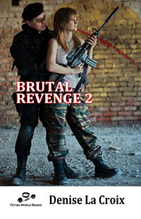 cover design for the book entitled Brutal Revenge 2