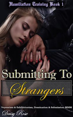 cover design for the book entitled Submitting to Strangers