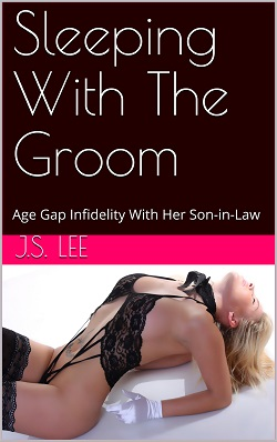 cover design for the book entitled Sleeping With The Groom