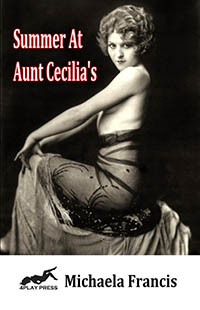 cover design for the book entitled Summer At Aunt Cecilia