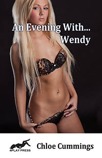 cover design for the book entitled An Evening With... Wendy