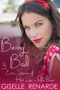 cover design for the book entitled Being Bad
