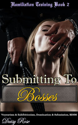 cover design for the book entitled Submitting To Bosses