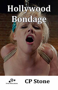 cover design for the book entitled Hollywood Bondage