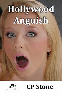 cover design for the book entitled Hollywood Anguish
