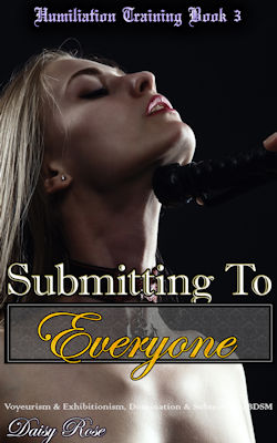 cover design for the book entitled Submitting To Everyone