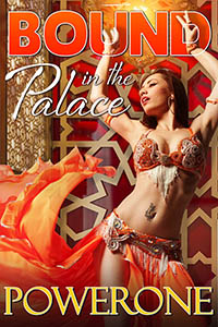 cover design for the book entitled Bound in the Palace