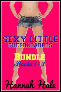 cover design for the book entitled Sexy Little Cheerleaders BOX SET