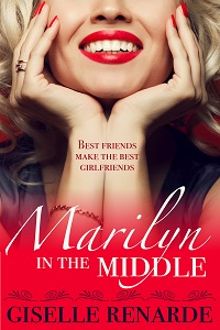 cover design for the book entitled Marilyn in the Middle