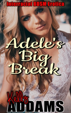 cover design for the book entitled Adele