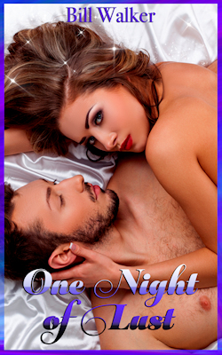 cover design for the book entitled One Night of Lust