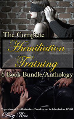 cover design for the book entitled The Complete Humiliation Training 6-Book Bundle/Anthology
