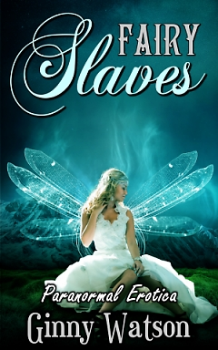 cover design for the book entitled Fairy Slaves