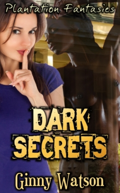 cover design for the book entitled Dark Secrets
