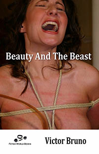 cover design for the book entitled Beauty And The Beast