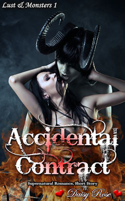 cover design for the book entitled Accidental Contract
