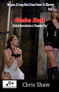 cover design for the book entitled Glebe Hall