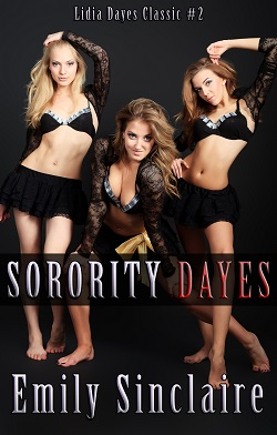 cover design for the book entitled Sorority Dayes