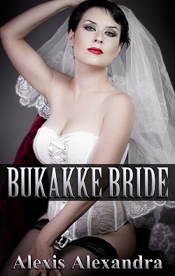 cover design for the book entitled Bukakke Bride