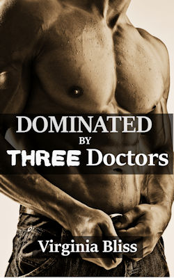 cover design for the book entitled Dominated By Three Doctors