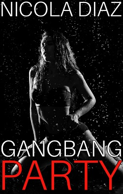 cover design for the book entitled Gangbang Party