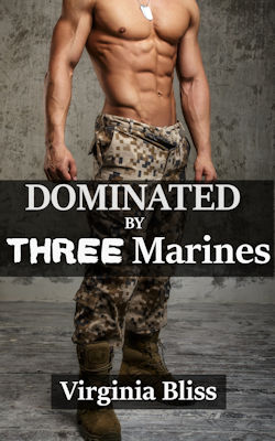 cover design for the book entitled Dominated By Three Marines